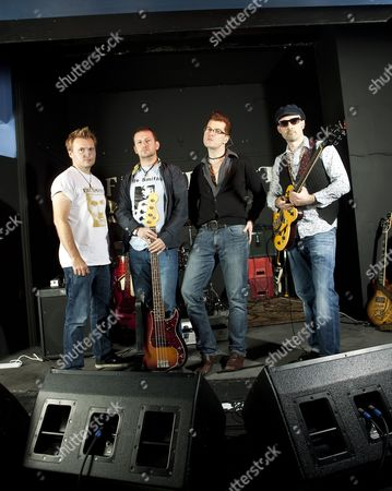 Editorial image of The Smiths tribute band, 'The Smyths' at  the Flowerpot Pub in Derby, Britain - 23 Oct 2010
