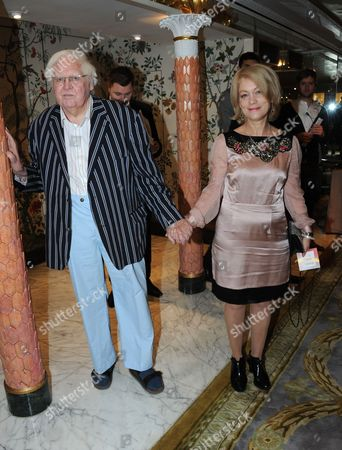 Ken Russell with guest Ken Russell with his wife Lisi Tribble