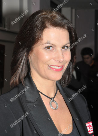 Michaela Tabb (43) - the first female to referee World Snooker Championship