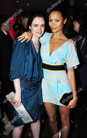 Eilidh MacAskill, editor of InStyle with Thandie Newton
