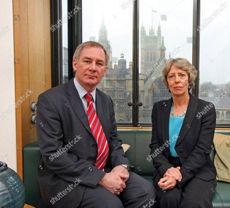Rebel Mps Geoff Hoon And Patricia Hewitt At Portcullis House.
