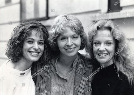 Editorial image of From Left: Rosalind Bennett Susannah York And Hailey Mills Together To Attend Rehearsals For The Friends Of The Earth Pantomime At The Prince Of Wales Theatre In London. Susannah York Died 15/1/2011 At The Age Of 72