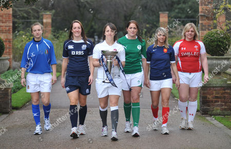 Editorial image of RBS 2011 Six Nations Rugby Tournament launch, Hurlingham Club, London, Britain - 26 Jan 2011