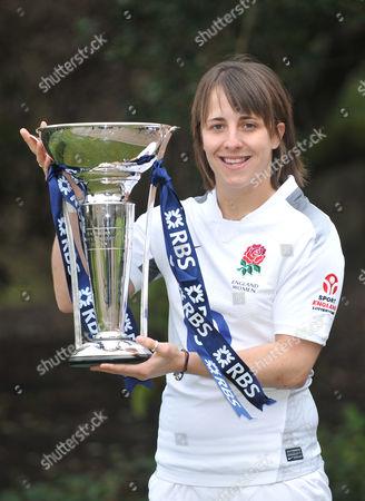 Katie McLean, captain of England.