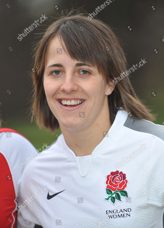 Stock Picture of Katie McLean, captain of England.