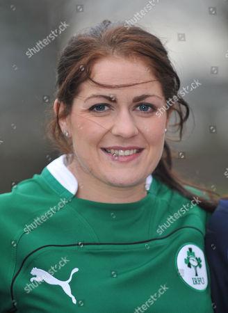 Fiona Coughlan, captain of Ireland.