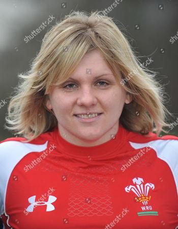 Katherine Edwards, captain of Wales.