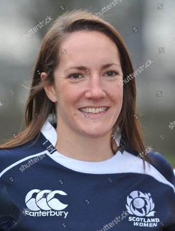 Susie Brown, captain of Scotland.