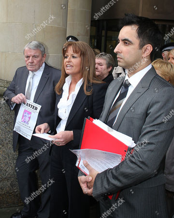 Gail Sheridan and Aamer Anwar read out a statement