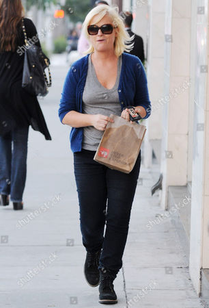 Editorial image of Amy Poehler and son Abel James Arnett shopping, Beverly Hills, America - 25 Jan 2011