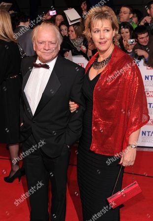 David Jason, wife Gill Hinchcliffe