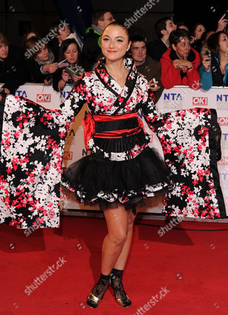 Editorial image of National Television Awards, The O2, London, Britain - 26 Jan 2011