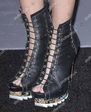 Editorial Stock Photo Of Emily Bergls Boots 1276350l Shutterstock