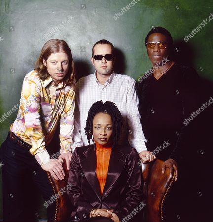 Stock Image of Brand New Heavies: Simon Bartholomew, Jan Kincaid, Andrew Levy and Siedah Garrett (sitting)