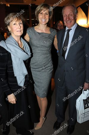 Santa Montefiore and parents Charles Palmer-Tomkinson and Patricia Palmer-Tomkinson