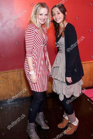 Zoe Lister and Klariza Clayton