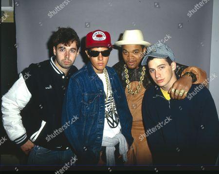 Beastie Boys - Adam Yauch, Mike Diamond, DJ Hurricane and Adam Horovitz