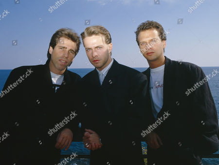 Johnny Hates Jazz - Clark Datchler, Mike Nocito and Calvin Hayes in San Remo