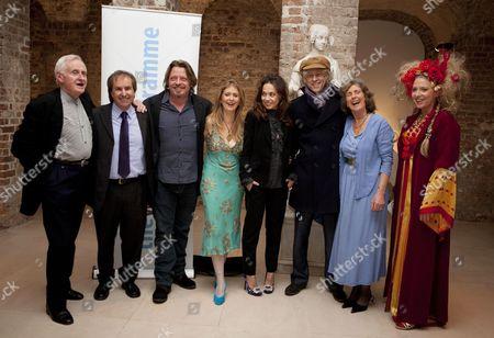 John Boorman, Chris de Burgh, Charley Boorman, Eva Hamilton MBE, Jeanne Marine, Sir Bob Geldof, Charlotte Cole and Katrine Boorman