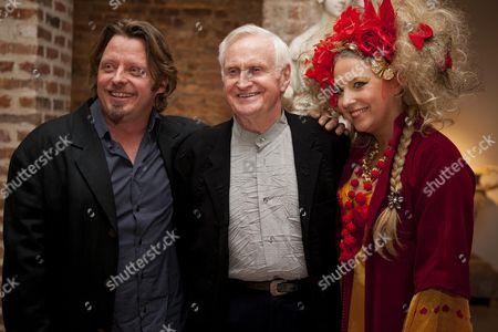 Charley Boorman, John Boorman and Katrine Boorman
