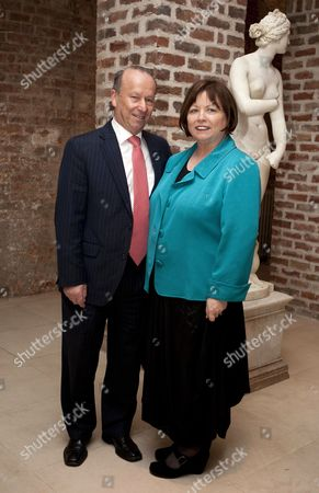Stock Picture of Ex-Health Minister Mary Harney and husband Brian Geoghegan