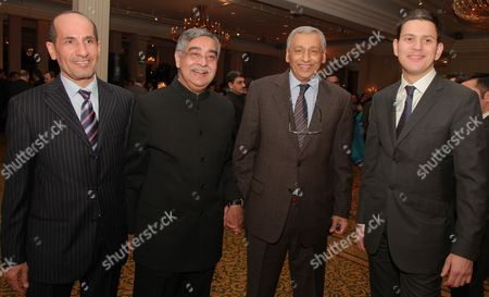 Editorial photo of 62nd Republic of India Day Reception at Grosvenor House, London, Britain - 26 Jan 2011