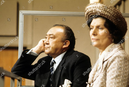 Editorial picture of 'Crown Court' TV Programme. - 1973