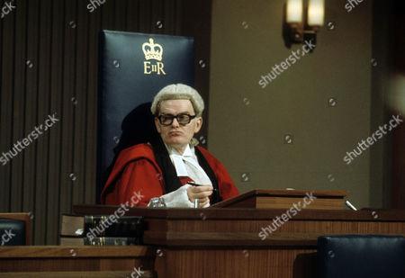 John Barron as Mr Justice Mitchener