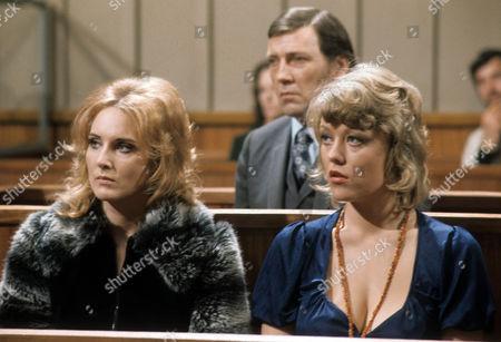 Elizabeth Counsell as Rita Davey and Margaret Nolan as Angela Mercer