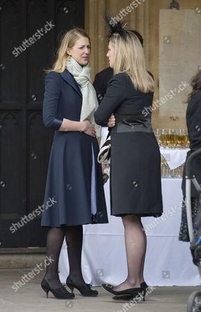 Lady Gabriella Windsor and Lady Nicholas Windsor