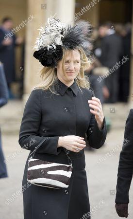 Editorial photo of Catherine Walker Memorial Service at St Luke's Church, Chelsea, London, Britain - 28 Jan 2011