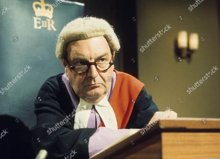 Stock Photo of Derek Francis as Judge Hastings