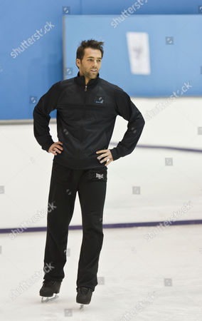 Editorial photo of 'Dancing on Ice' TV Programme, Training Session, Shepperton Studios, Middlesex, Britain -  27 Jan 2011