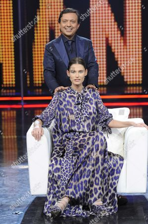 Piero Chiambretti and Bianca Balti