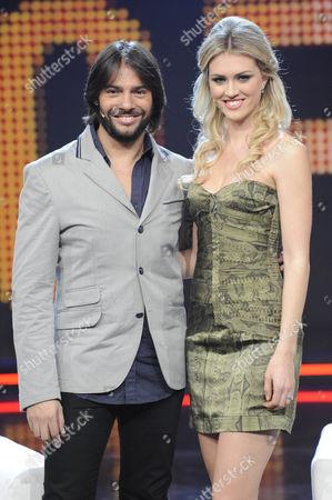 Joaquin Cortes and Sofia Bruscoli