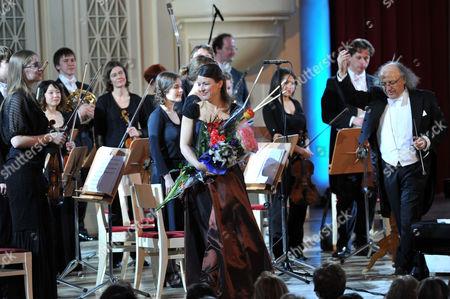 Arkady Berin, Polina Osetinskaya and the International Symphony Orchestra of Germany