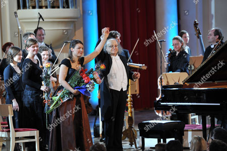 Editorial picture of International Symphony Orchestra of Germany, St Petersburg, Russia - 27 Jan 2011