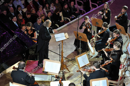 Editorial image of International Symphony Orchestra of Germany, St Petersburg, Russia - 27 Jan 2011