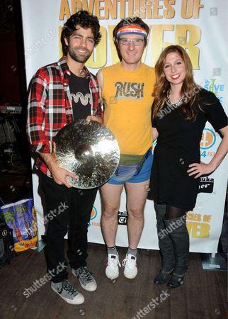 Adrian Grenier, Ari Gold and Shoshannah Stern