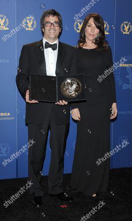 Stock Photo of Steven Levitan and Katy Segal