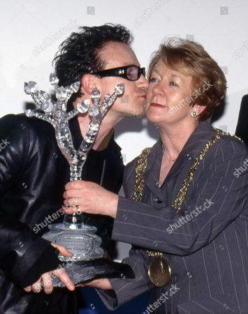 Editorial picture of U2 receive the Freedom of the City, Dublin, Ireland - 18 Mar 2000