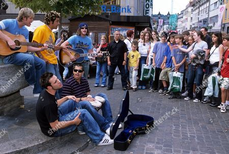 O Town - Ashley Parker Angel, Eric Michael Estrada, Dan Miller, Jacob Underwood and Trevor Penick, Cologne, Germany