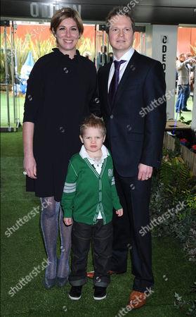 Steve Hamilton Shaw and family