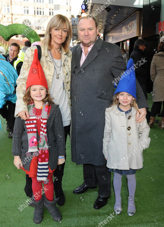 Jane Moore, Gary Farrow and children