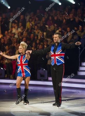 Dominic Cork with Dancing partner Alexandra Schauman