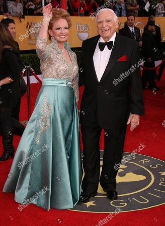 Tova and Ernest Borgnine