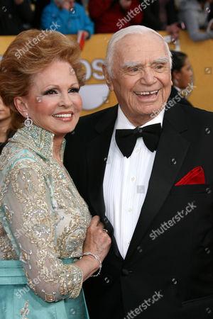 Stock Picture of Tova and Ernest Borgnine