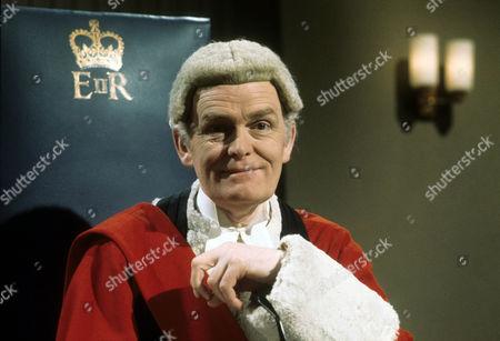 John Barron as Mr Justice Mitchenor