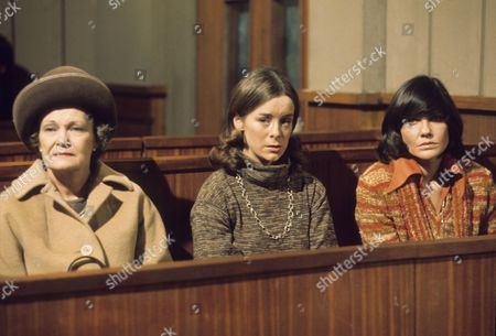 Editorial picture of 'Crown Court' TV Programme. - 1976