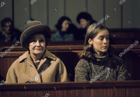 Editorial photo of 'Crown Court' TV Programme. - 1976